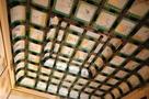 本丸御殿上洛殿上段之間の格天井…