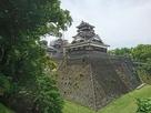 宇土櫓(加藤神社入口付近から)…