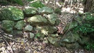 大手道の石垣