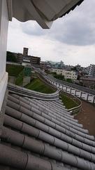清明櫓から富士見櫓…