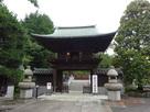 普済寺・櫻門と太鼓橋