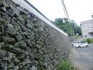 家老屋敷の石垣…