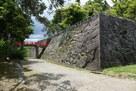 本丸石垣と橋