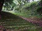 現在の大手門から本丸への階段…