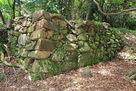 南の丸、雁木横の石垣…