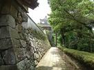 地蔵坂櫓(北虎口御門前から)…