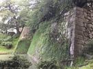巽櫓跡下の石垣…