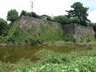 内堀と坤櫓・太鼓櫓石垣…