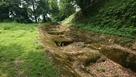 未完成の掘跡