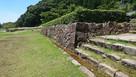 大手山門の石垣…