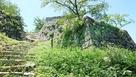 立派な石垣が残っています。…