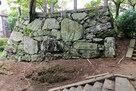 帳櫓(とばりやぐら)跡石垣の南面…