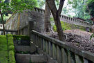 家康公廟所の石垣…