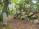 城址碑と石垣