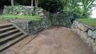 西三の丸門跡の枡形…