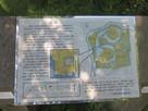 小松城の案内板…
