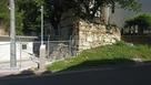 石垣と朝鮮使節石碑…
