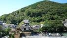 清水山城登山口辺りから見下ろす…
