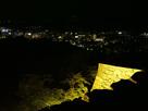 天守台からの夜景(市中心部)…