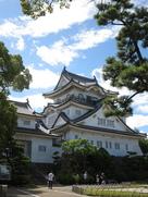 夏の岸和田城