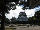岸和田城と木
