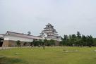 会津若松城を見た…