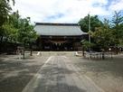菊池神社本殿(本丸跡)…