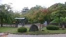 旧近衛邸庭から本丸丑寅櫓…