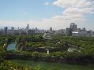 大阪城鳥瞰図①…