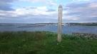 ヲンネモトチャシ碑から納沙布岬方面を望む…
