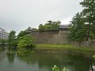 南櫓と中櫓と水堀…