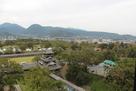 宇土櫓と加藤神社…