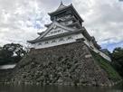 小倉城天守 濠側から…