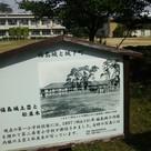 福島城土塁と松並木…