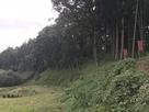 畑側からの遠景…