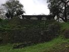 卯寅口門跡の石垣…
