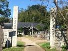 瑞祥院本堂と背後の羅漢山…