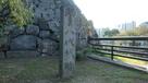 八代城址 石碑