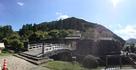 有子山城跡も少し見えます…