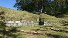 主郭跡の石垣