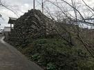 本丸門櫓跡の石垣