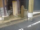 徳川時代銀座遺祉の石碑付近…