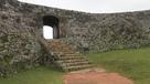 一の郭 石のアーチ門…