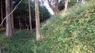 丸山城 切岸と空堀…