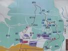案内板・散策コース@上遠野公民館駐車場…