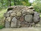 西曲輪南虎口の石垣