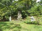 西曲輪の石碑
