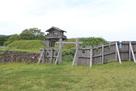 中の丸城柵と本丸門