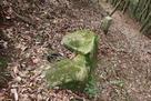 水城口城門跡の礎石(南側)