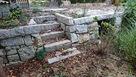 集義館裏の石段…